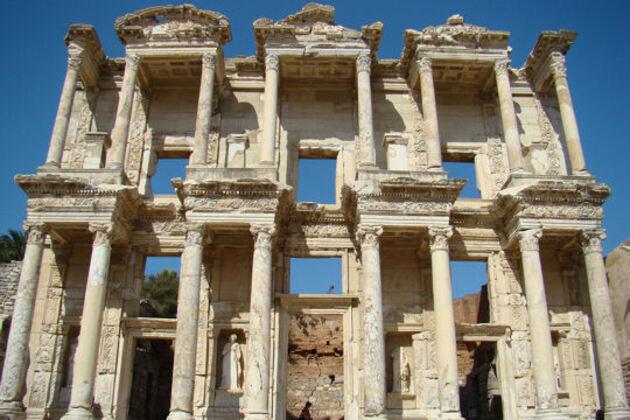 En Turquie : visite d'Ephèse