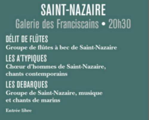 LES DEBARQUÉS  AUX MUSICA'les DE SAINT NAZAIRE