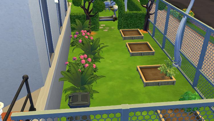 Sims 4 : Aménagement de l'immeuble Plazza