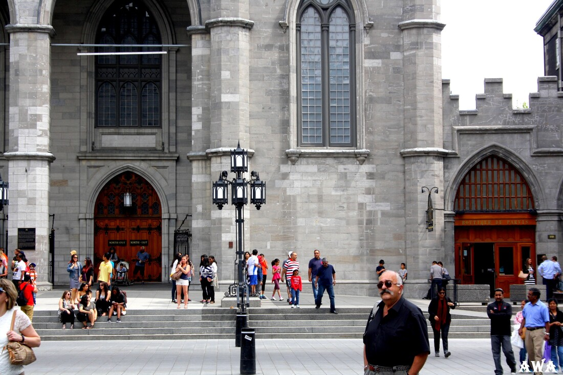 Montréal ( suite 2 ) la merveilleuse Basilique