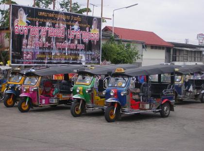 les transports en thailande