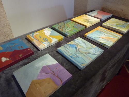 Mes peintures, petits formats