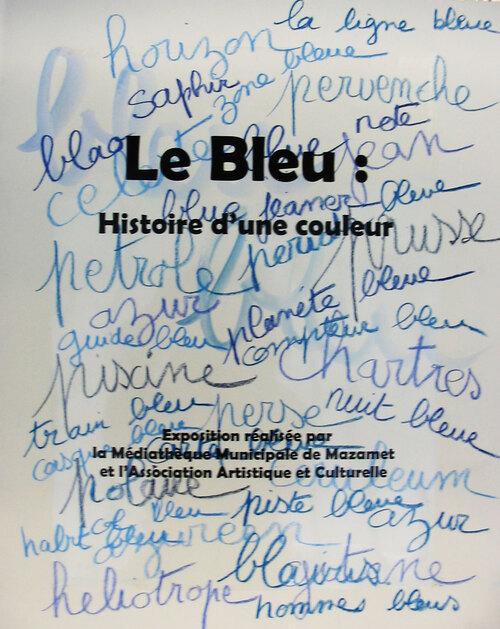 Expositions en prêt Bleu, histoire d'une couleur