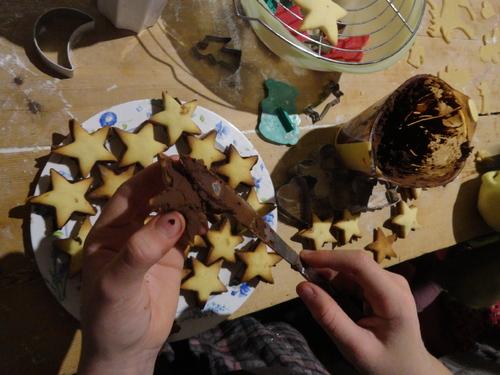 Petits Biscuits Fourrés Etoiles