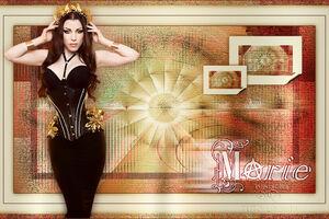 Maria A de libelule