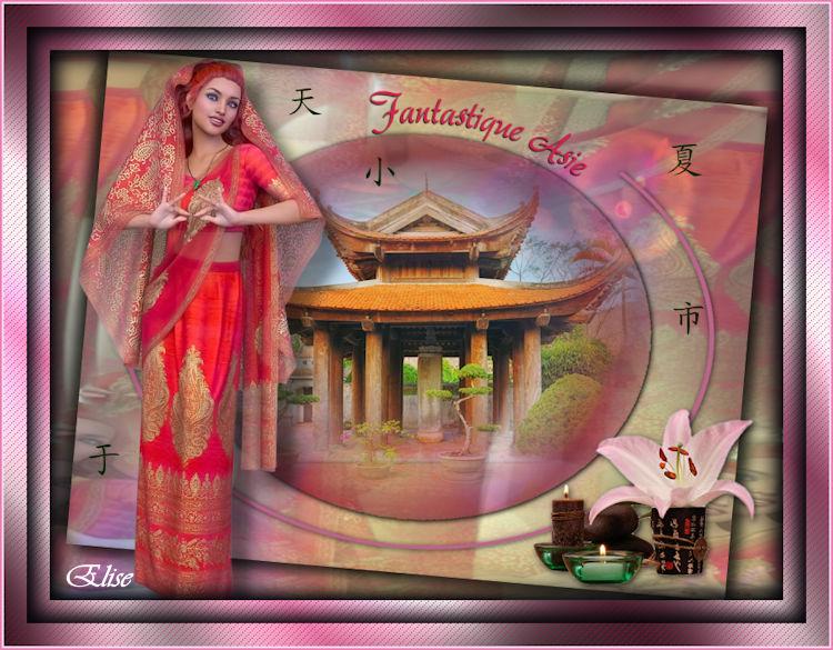Fantastique Asie de Auréliagraphics