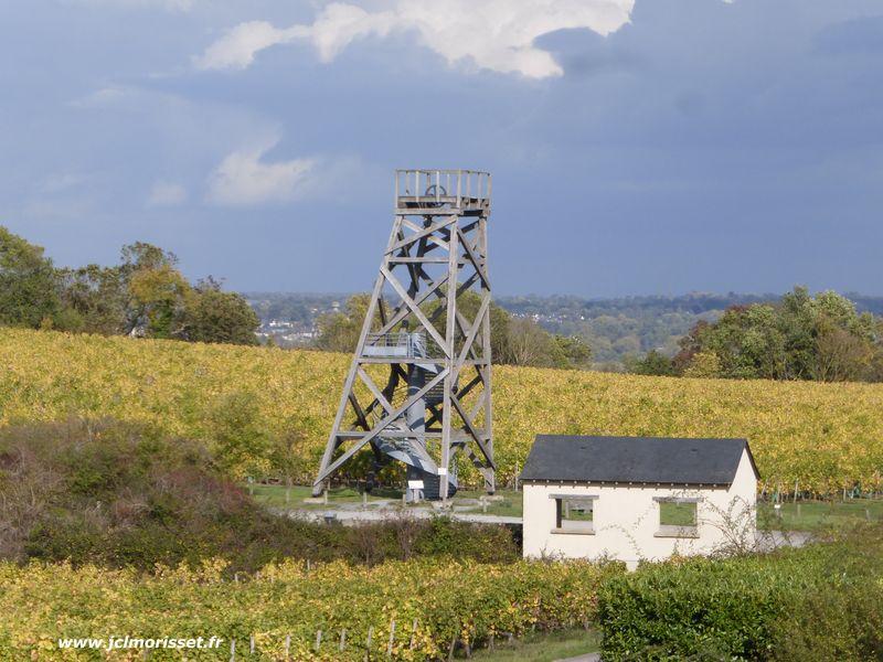 le chevalet de la Mine Malécot