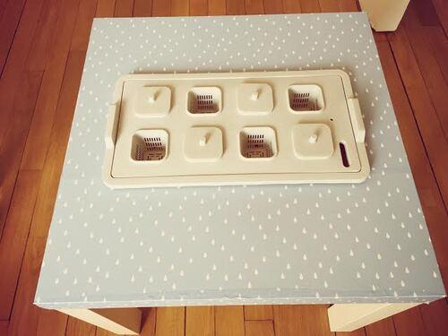 Créer une table à plantations