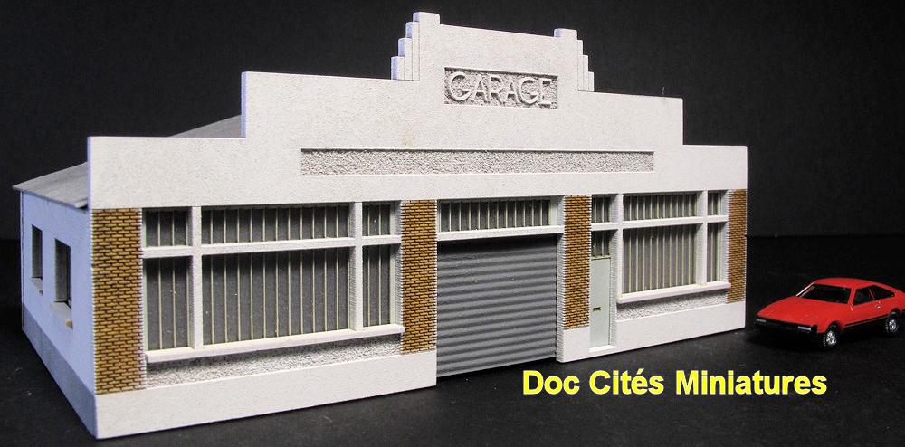 cit s miniatures garage automobile art d co le blog de l 39 afan. Black Bedroom Furniture Sets. Home Design Ideas