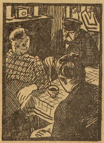 Chez le guérisseur, in Le Guérisseur psychosique (Le Grand écho du Nord de la France, 20 novembre 1931)