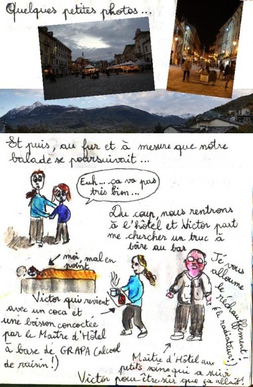 Petit road-trip 3e et dernier jour : Gênes et Aoste !