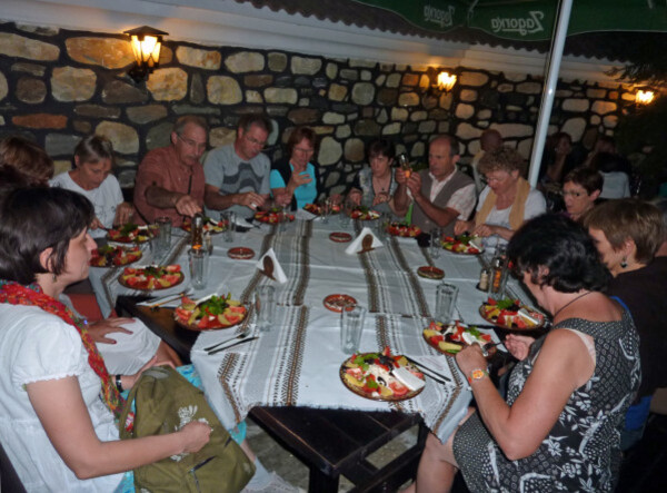 Jour 7 - Kardjali - Restaurant du soir 7