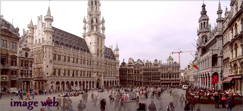 Visite virtuelle de la Grand-Place de Bruxelles