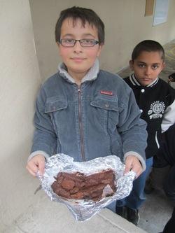 Fondant au chocolat préparé au SESSAD par Maxence
