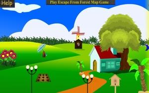 Jouer à Forest entry house escape