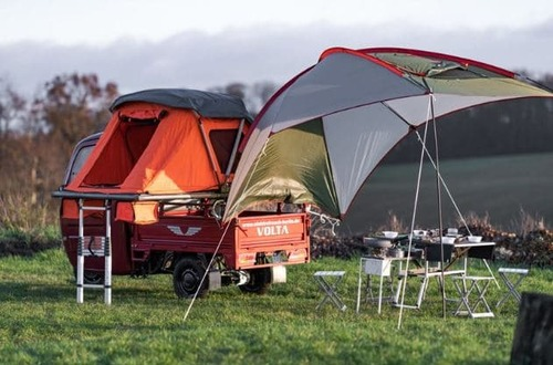 Tricycle camping-car