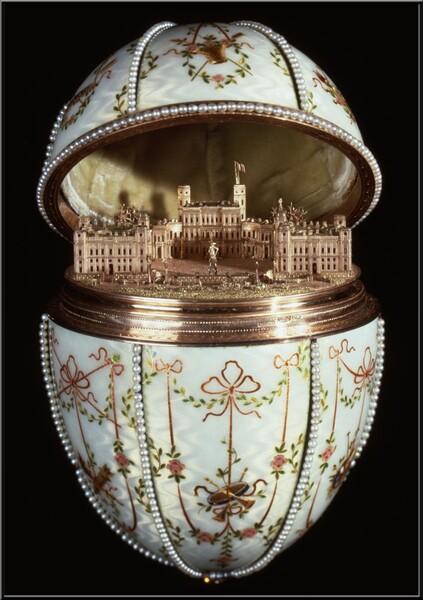 Pierre-Karl Fabergé l'Oeuf du Palais de Gatchina