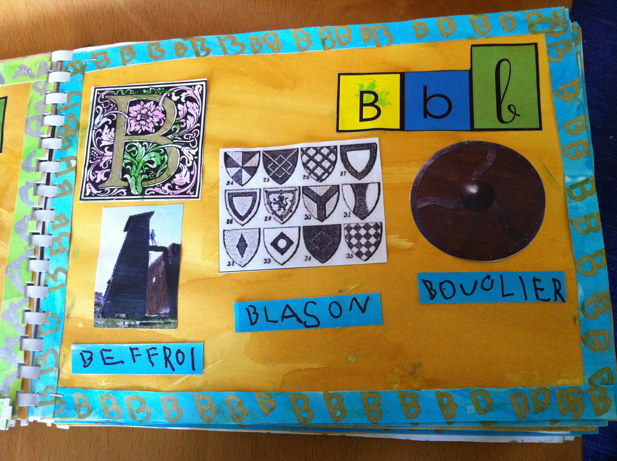 Abecedaire Medieval Ms La Classe De Wjl