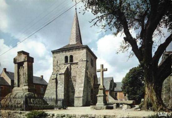Toulx-Sainte-Croix : l'église