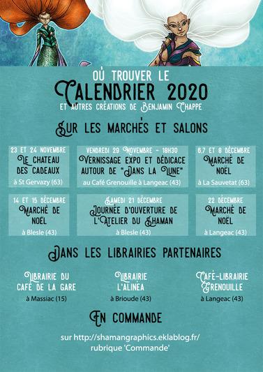 Calendrier noël 2019 Benjamin Chappe