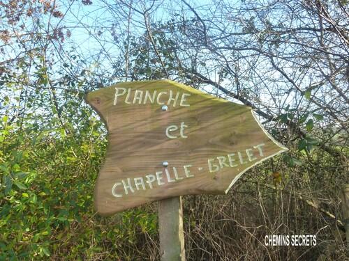 La chapelle de la Planche-Grelet....