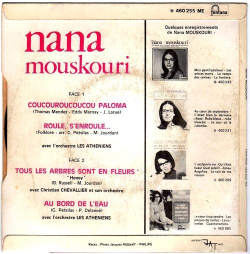Nana Mouskouri - Tous Les Arbres Sont En Fleurs 02