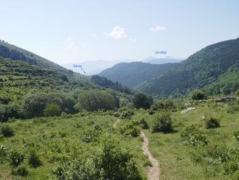 Descente dans la vallée du Cabrils