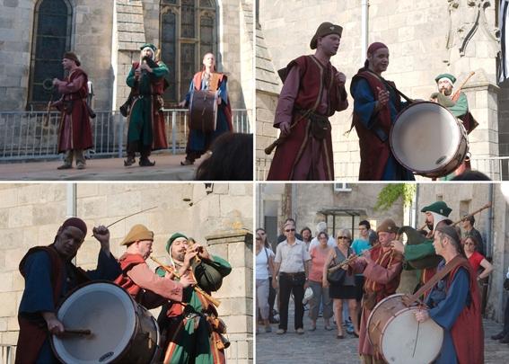 CURRAGH - Scène et animation de rue aux Médiévales de Guérande