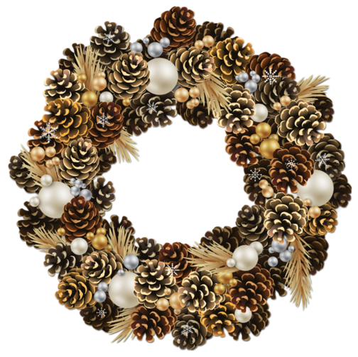 http://gallery.yopriceville.com/var/resizes/Free-Clipart-Pictures/Christmas-PNG/Transparent_Christmas_Pinecone_Wreath_with_Pearls_Clipart.png?m=1419240468