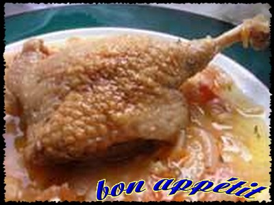 Canard à la congolaise