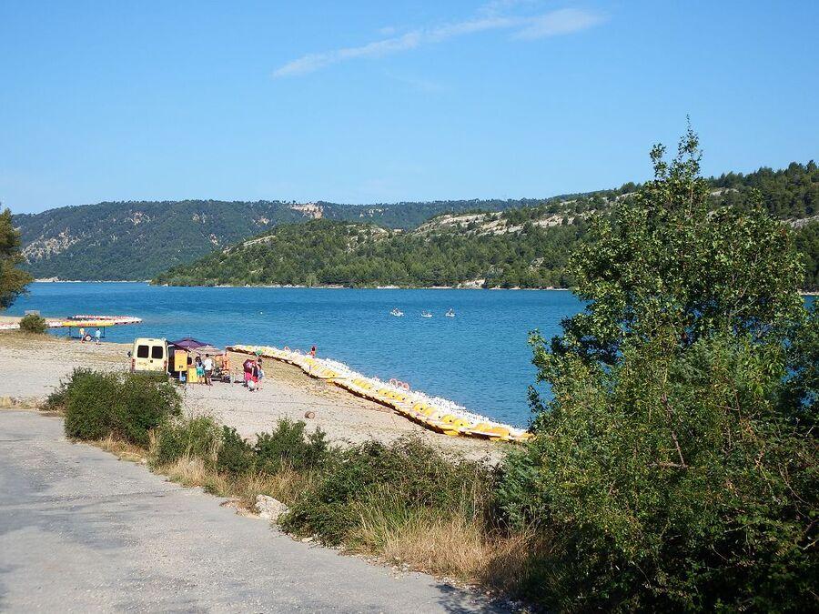 le lac de Sainte-Croix dept  04