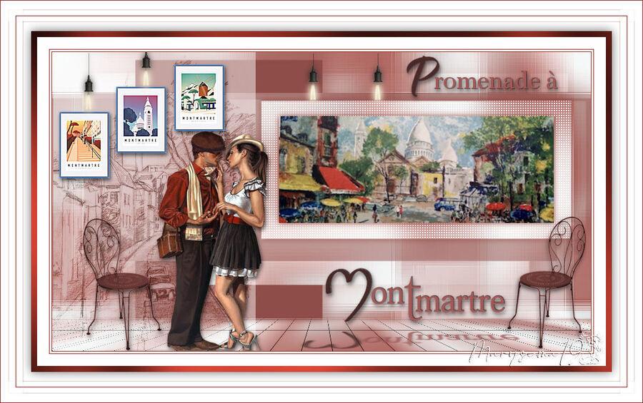 Promenade à Monmartre