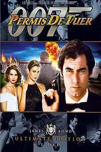"""PERMIS DE TUER 1989 : Dans cette seizième aventure, 007 va devoir utiliser son """"permis de tuer"""" contre l'avis même de M, son supérieur hiérarchique. En effet un couple de ses amis est sauvagement assassiné par le plus puissant trafiquant de drogue de la planète. 007 est bien décidé, entouré de pulpeuses blondes et brunes, à venger la mort de ses amis. ...-----... Titre original : Licence to Kill  Date de sortie : 4 août 1989  Réalisé par : John Glen  Acteurs : Timothy Dalton, Anthony Zerbe, Carey Lowell   Durée : 2h 13mn  Genres : Policier, Action, Espionnage  Critiques Spectateurs : 6.6/10 (IMDb)"""
