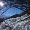 Traversée d\'une quatrième coulée de neige
