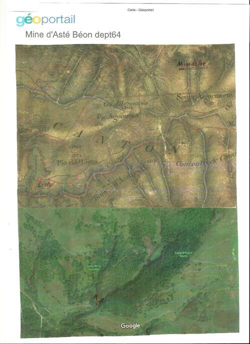 ASTE BEON  (dept64) Mines