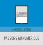 E-challenge : passons au numérique organisé par Hedyuigirl