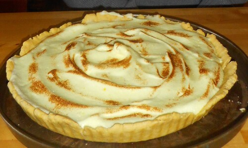 tarte au citron de chef Fred