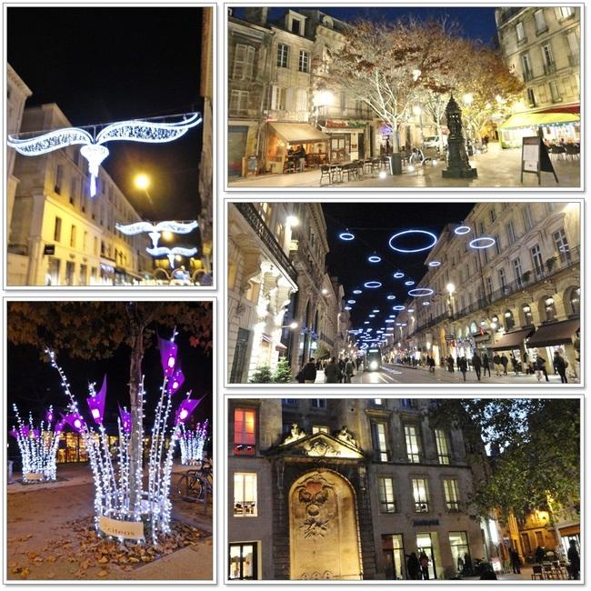 Bordeaux et son décor de Noël