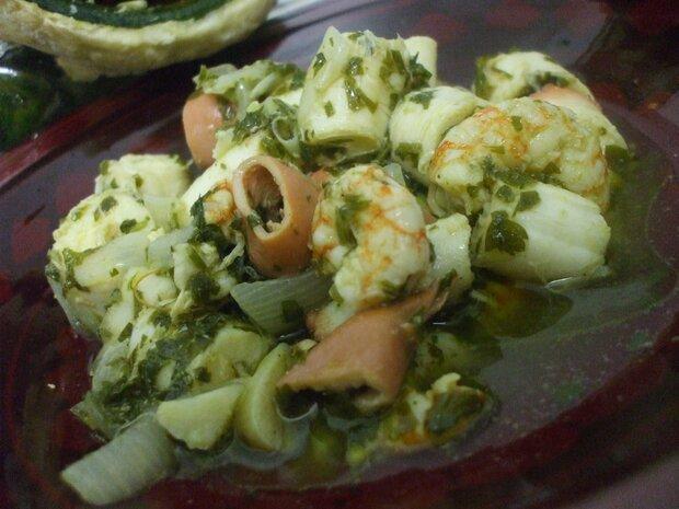 Koulla aux fruits de mer
