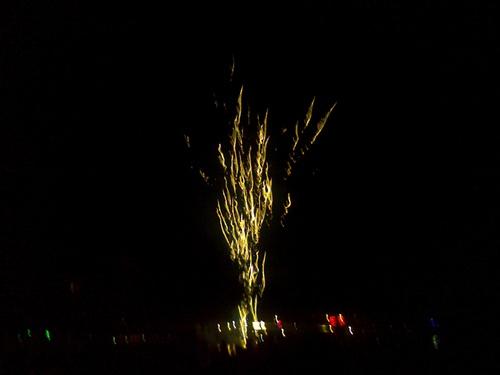 Le feu d'artifice du 14 juillet 2016