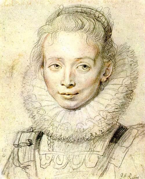 Rubens 1 / 1609 : il épouse  Isabelle Brandt