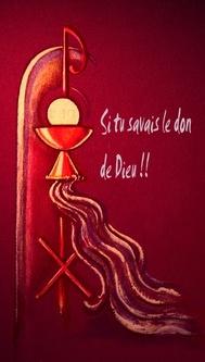Entends, Jésus, la cloche de ma chapelle intérieure...