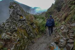 6e jour de marche : El Acebo - Ponferrada 17.5 km - 5h de marche - 138m dénivelé positif - 775m dénivelé négatif
