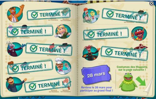 Guide fête muppet