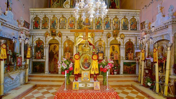 Le monastère de PALEOKASTRITSA