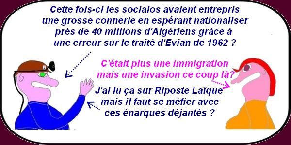 40 millions d'algériens naturalisés cela vous dit ?