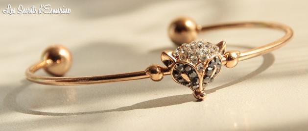 Née Jolie, bijou, renard, accessoire, mode, bijoux, #8497