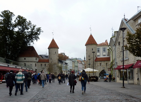 Les pays Baltes : Estonie : Jour 6 - Château de Kadriorg et Tallinn