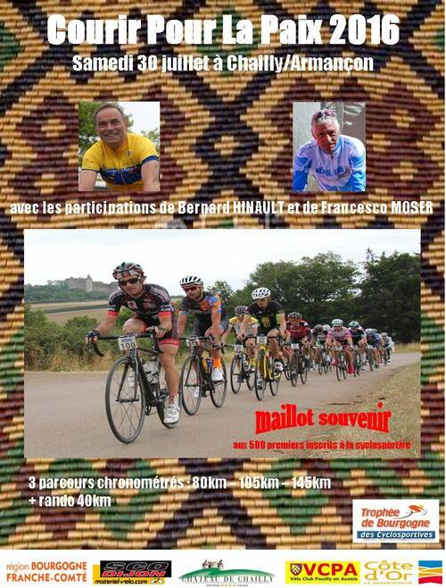 Brochure Courir Pour La Paix 2016