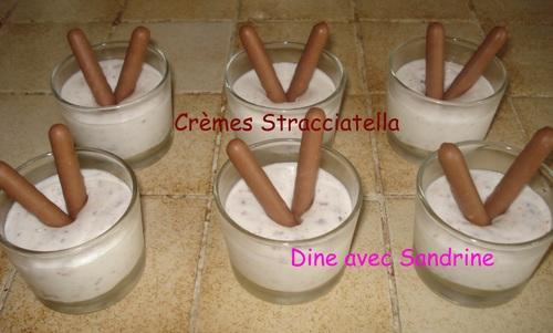 Crèmes Stracciatella